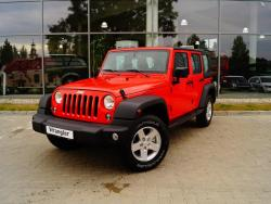 Jeep Wrangler Unlimited Sport 2,8 CRD A5 200 KM Command-Track