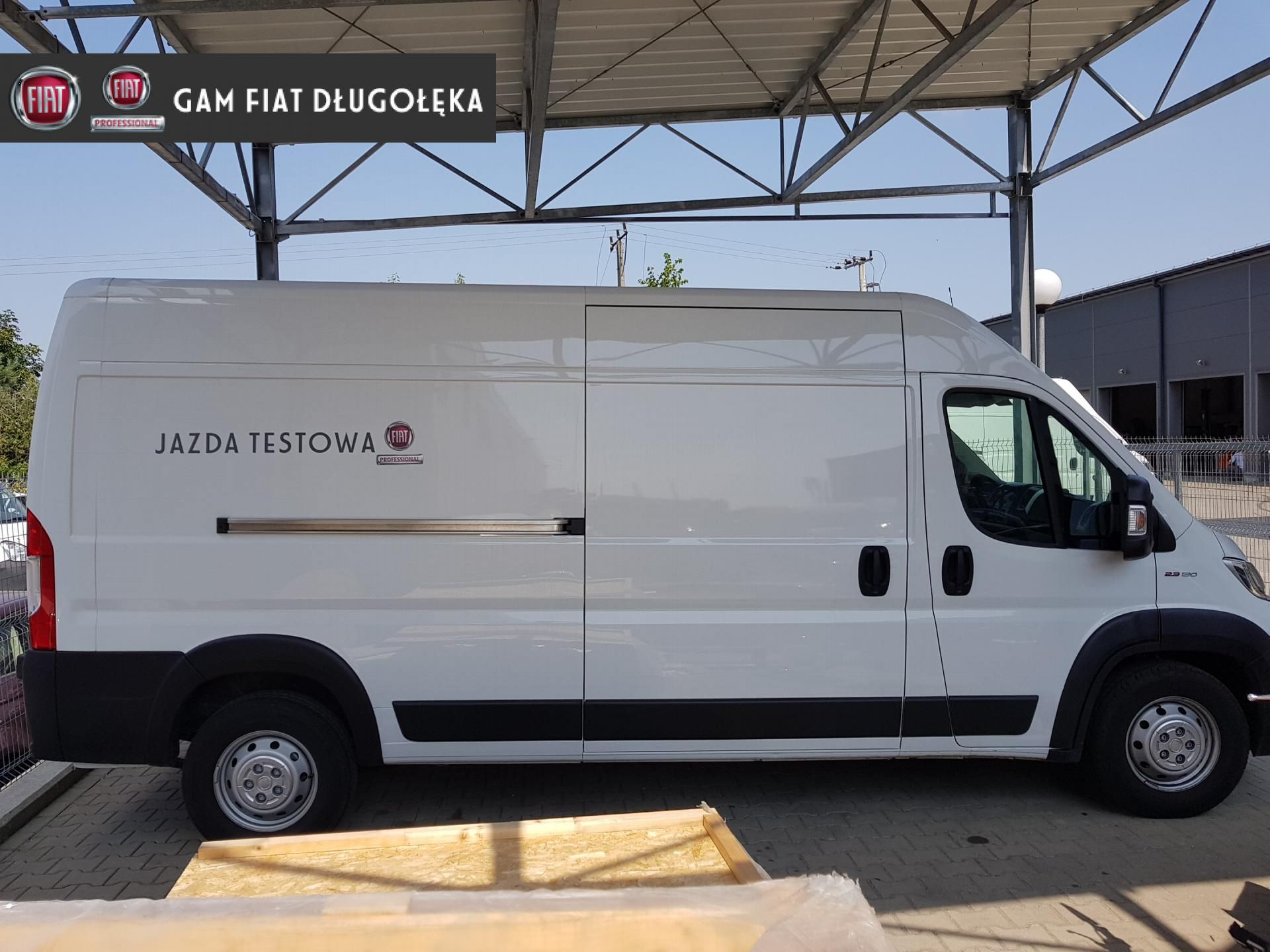Unikalne Fiat Ducato Fiat Ducato 130KM L3H2 MAXI wersja DEMO od ręki, GAM KS12