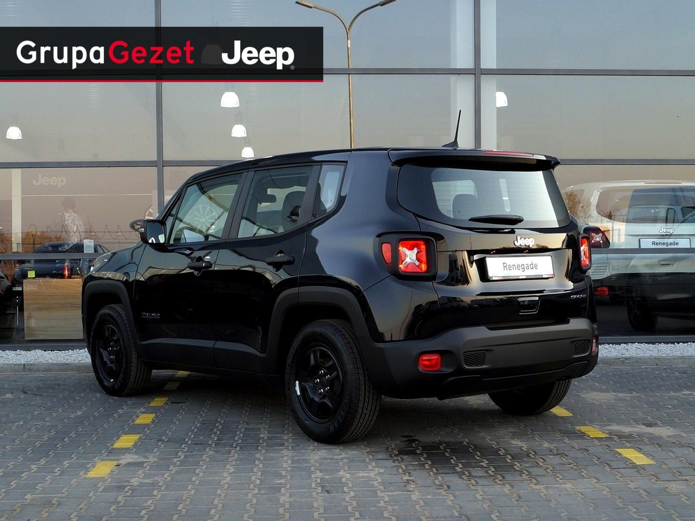 Unikalne Jeep Renegade Sport GSE T3 Turbo 120KM | Kolor: Czarny OY76