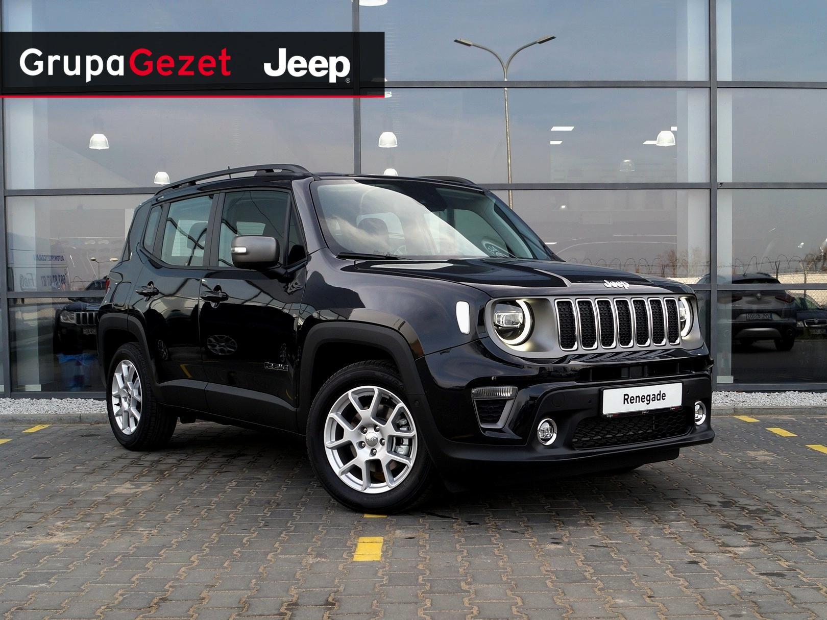 Dodatkowe Jeep Renegade Limited GSE T4 Turbo 150KM DDCT Carbon Black | Kolor KQ62