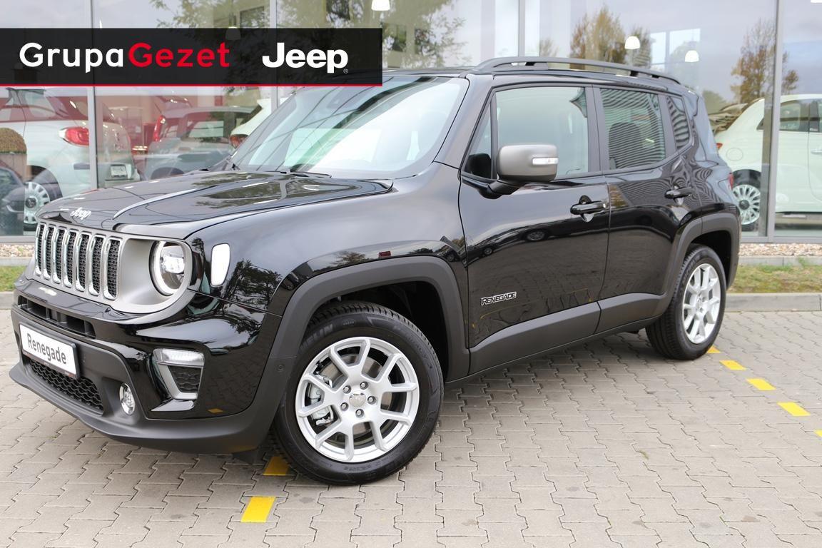 Tylko na zewnątrz Jeep Renegade Limited 1.0 120KM | Kolor: Czarny ✰ Samochody FR97