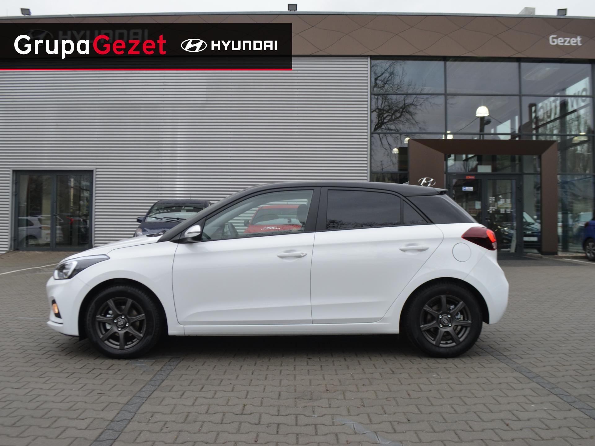 Hyundai I20 Classic Plus 12 Mpi Kolor Biały Samochody Nowe