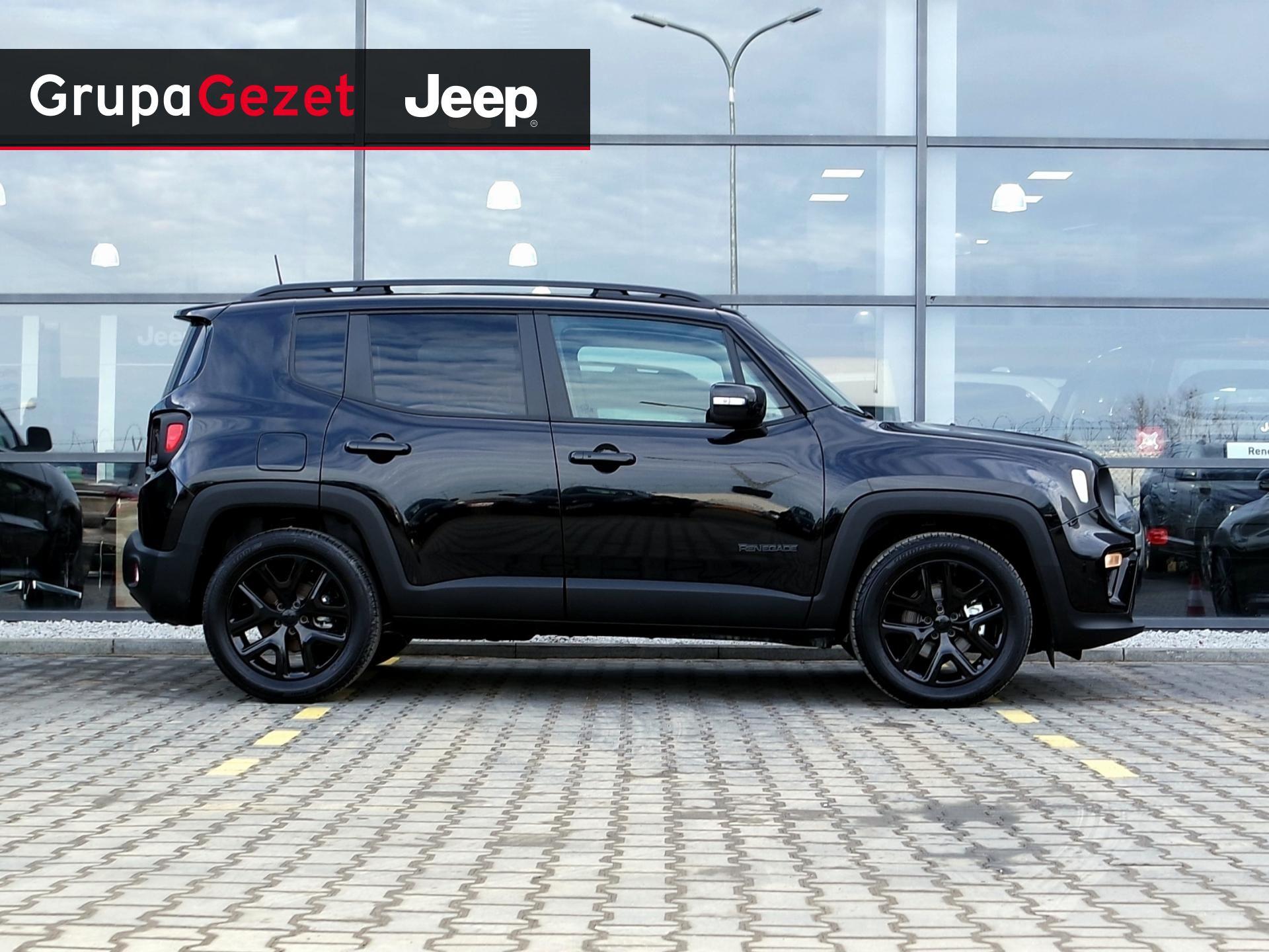 Genialny Jeep Renegade NIGHT EAGLE T4 Turbo 150KM DDCT Carbon Black | Kolor SY62