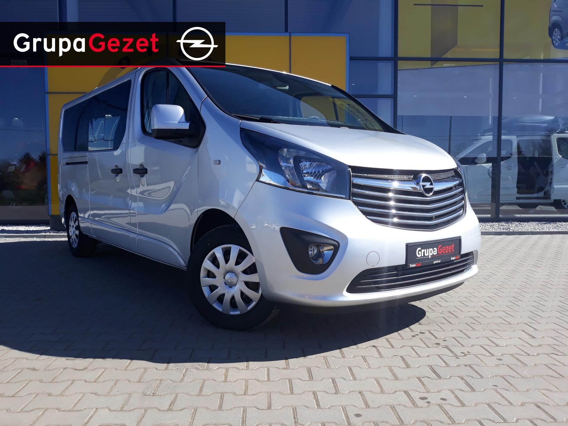 Niewiarygodnie Opel Vivaro Kombi Edition L2H1 9 osobowy | Kolor: Srebrny OH08