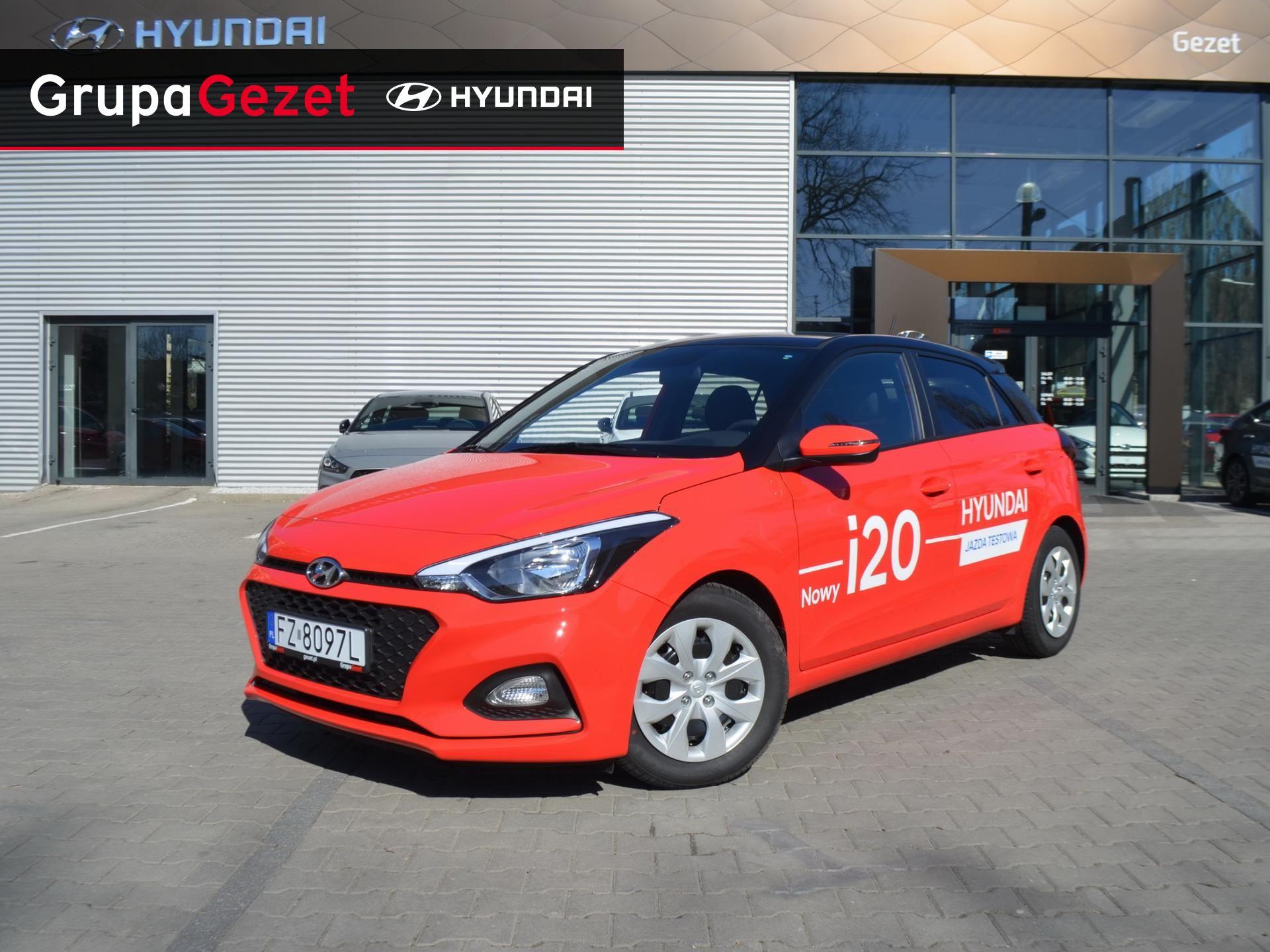 Bardzo dobryFantastyczny Hyundai i20 GET! 1,2 MPI 84KM | Kolor: Czerwony ✰ Samochody JG28