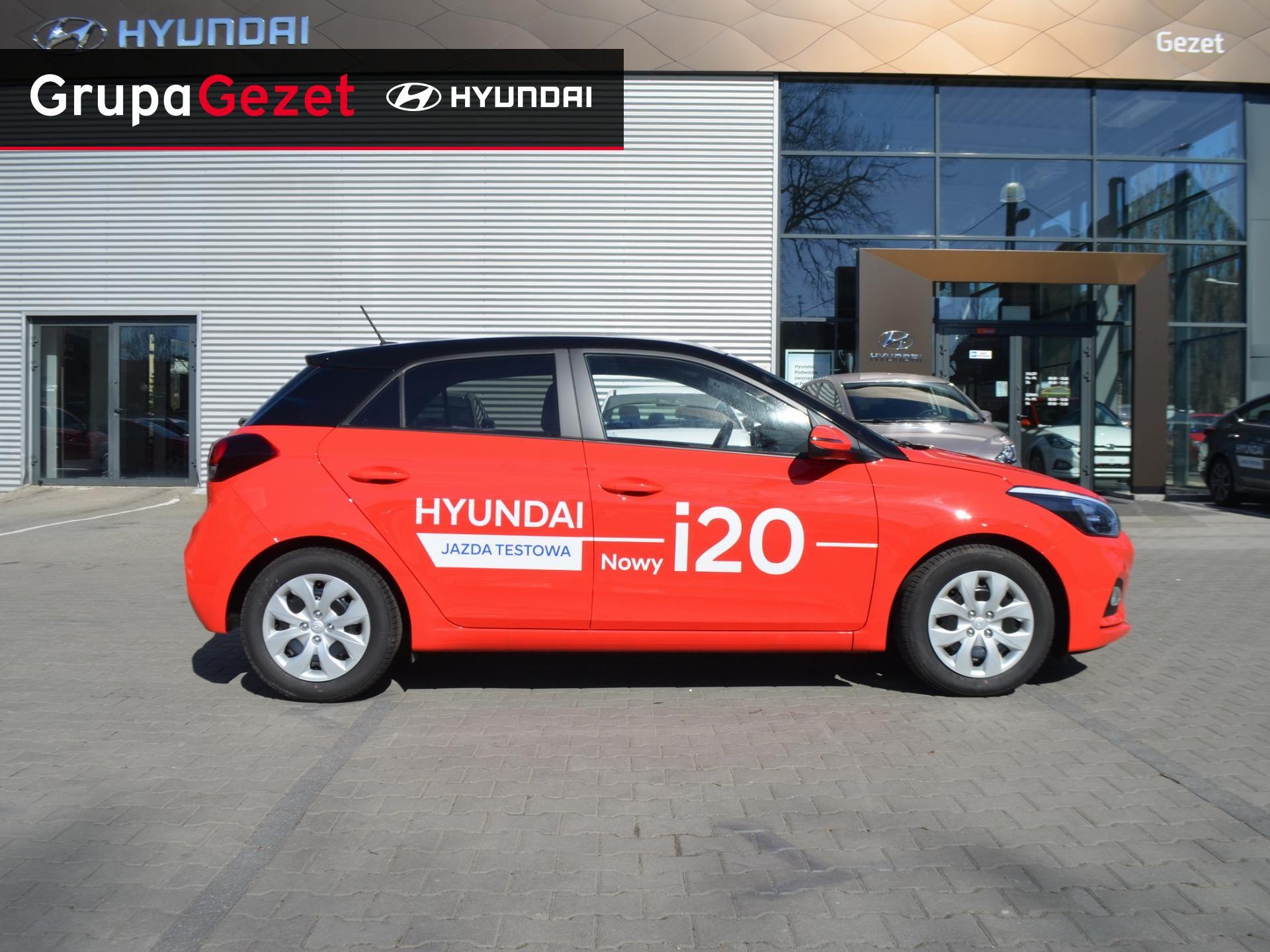 Bardzo dobra Hyundai i20 GET! 1,2 MPI 84KM | Kolor: Czerwony ✰ Samochody ET18