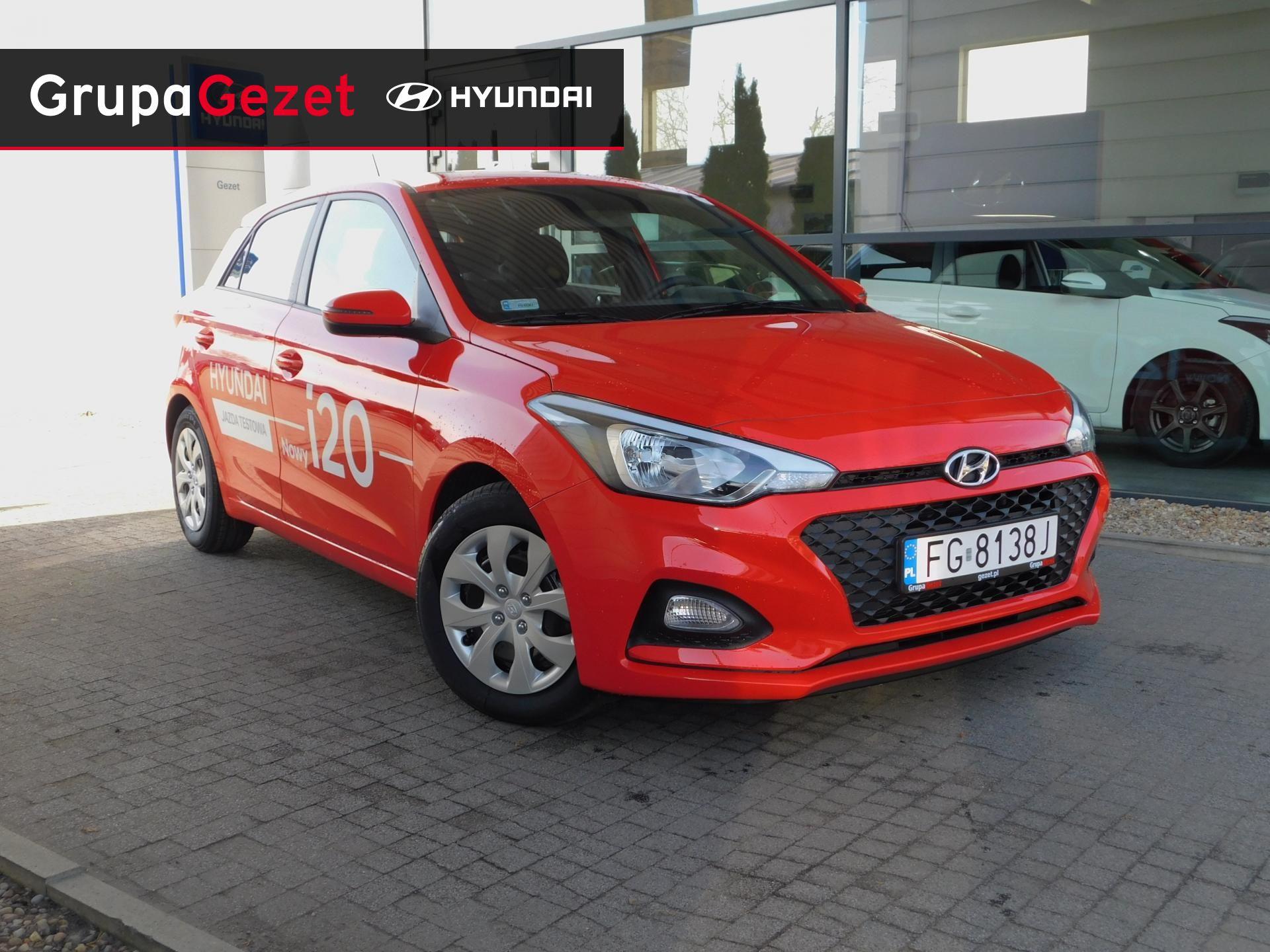 Ogromny Hyundai i20 1,2 MPI (84KM) GET! - Tomato Red DEMO | Kolor KT07
