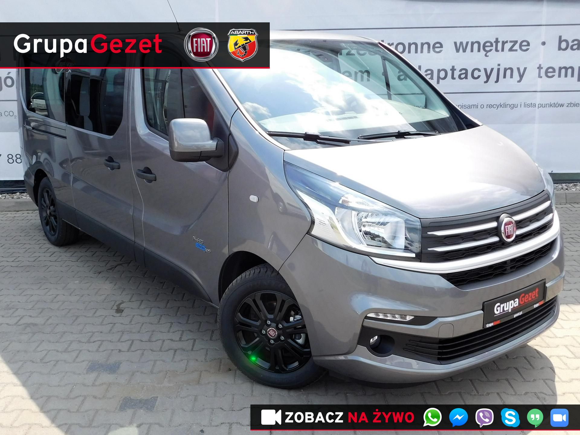 fiat talento kombi m1 sx l2h1 1 6 ecojet twin turbo 145 km. Black Bedroom Furniture Sets. Home Design Ideas